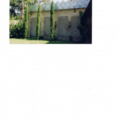 Traitement raffiné pour clôture et mur mitoyen
