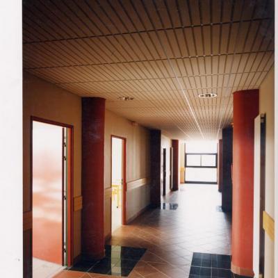 Un couloir pour un architecte peut contribuer à la richesse des lieux