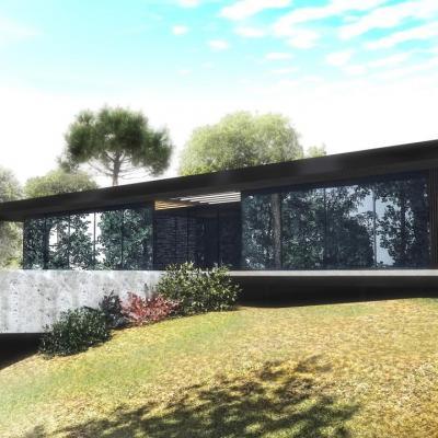 Maisons contemporaines dans le Gard