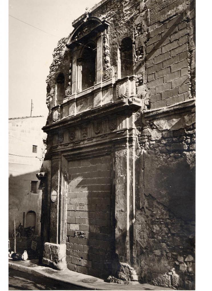 La porte du XVIIIe sciècle